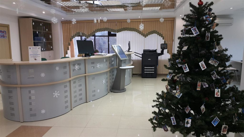 Станция книговыдачи RFID АКВ